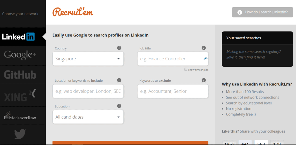 X-Ray search LinkedIN & More