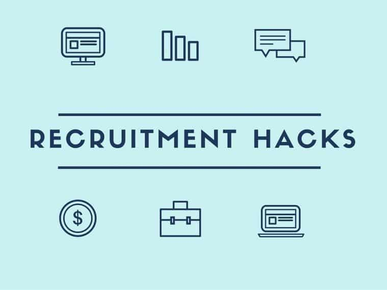 recruitment hacks