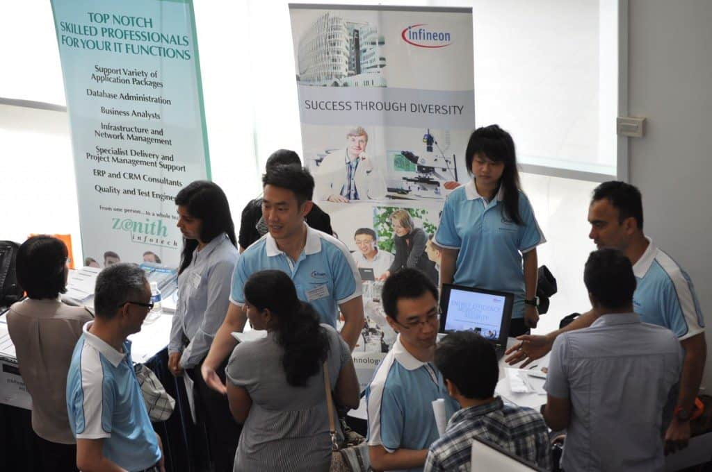 Campus Recruitment by Infineon Singapore