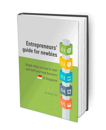 Book cover of entrepreneurial guide for newbies