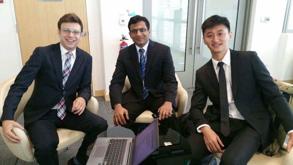 HR Entrepreneur Madu with his associates