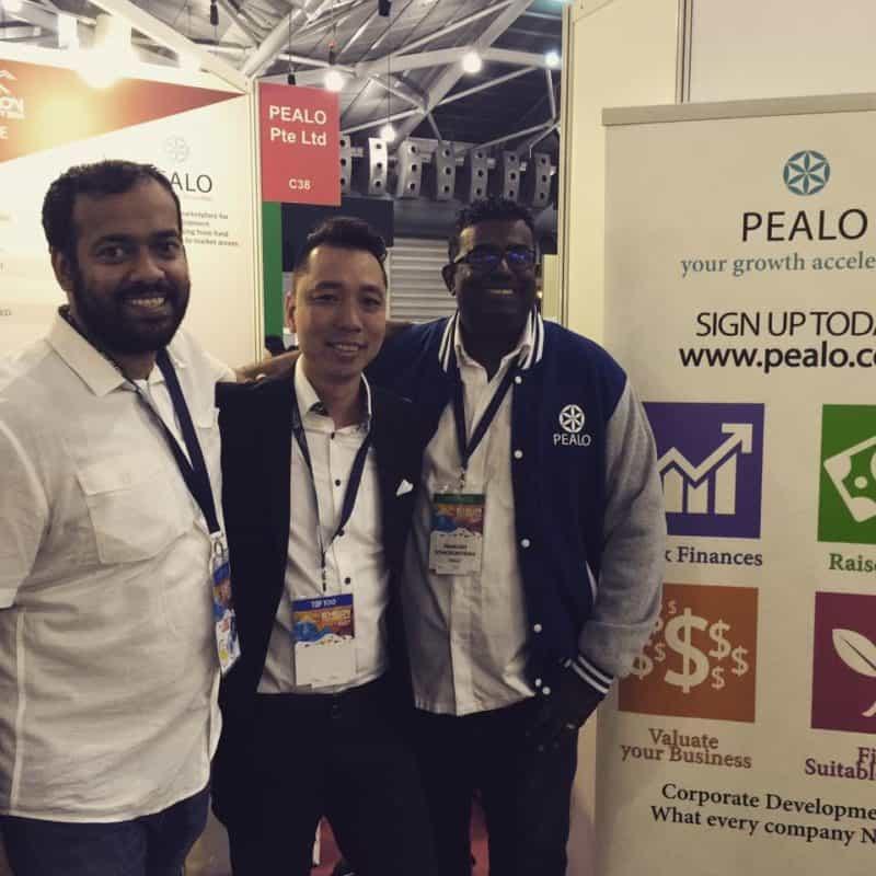 Fintech Pealo Founder & CEO Prakash Somosundram at Echelon