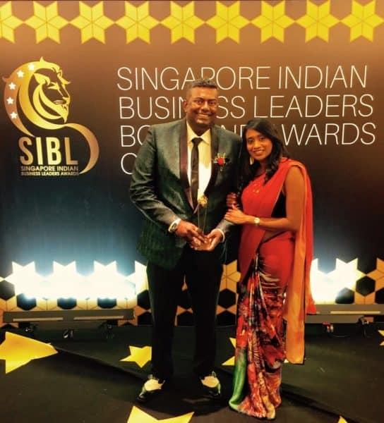 Fintech Pealo Founder & CEO Prakash Somosundram at SIBL awards