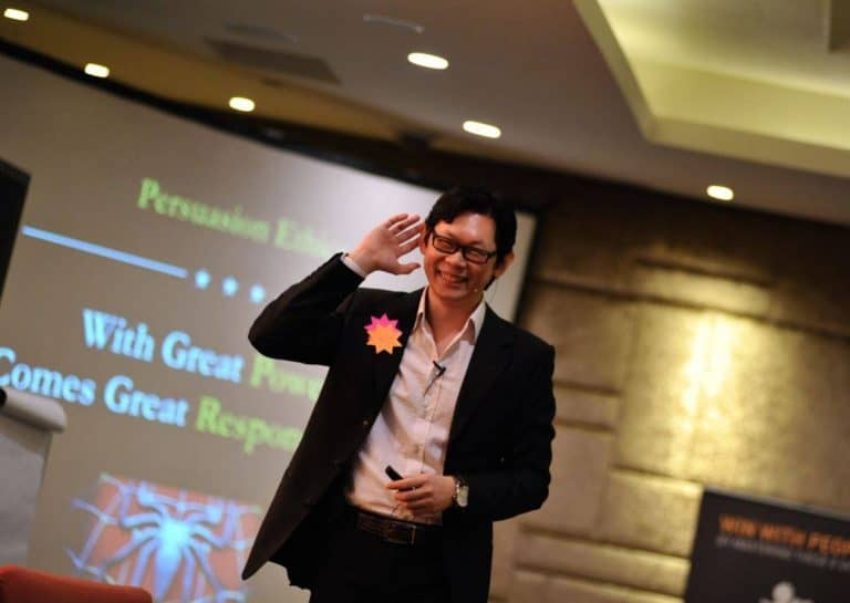 Singapore Marketing Entrepreneur Sant Qiu