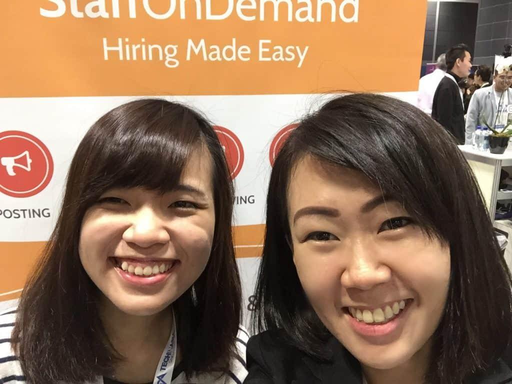Recruitment tech StaffOnDemand Christine Liu