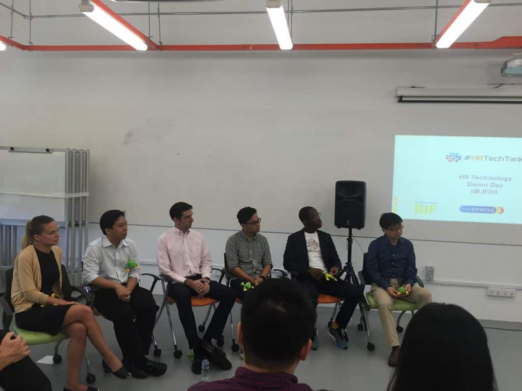Investors at HRTechTank Singapore 2016