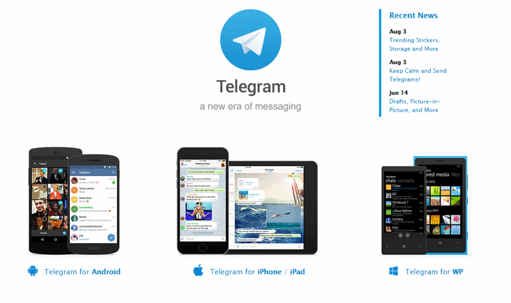 Telegram_homepage