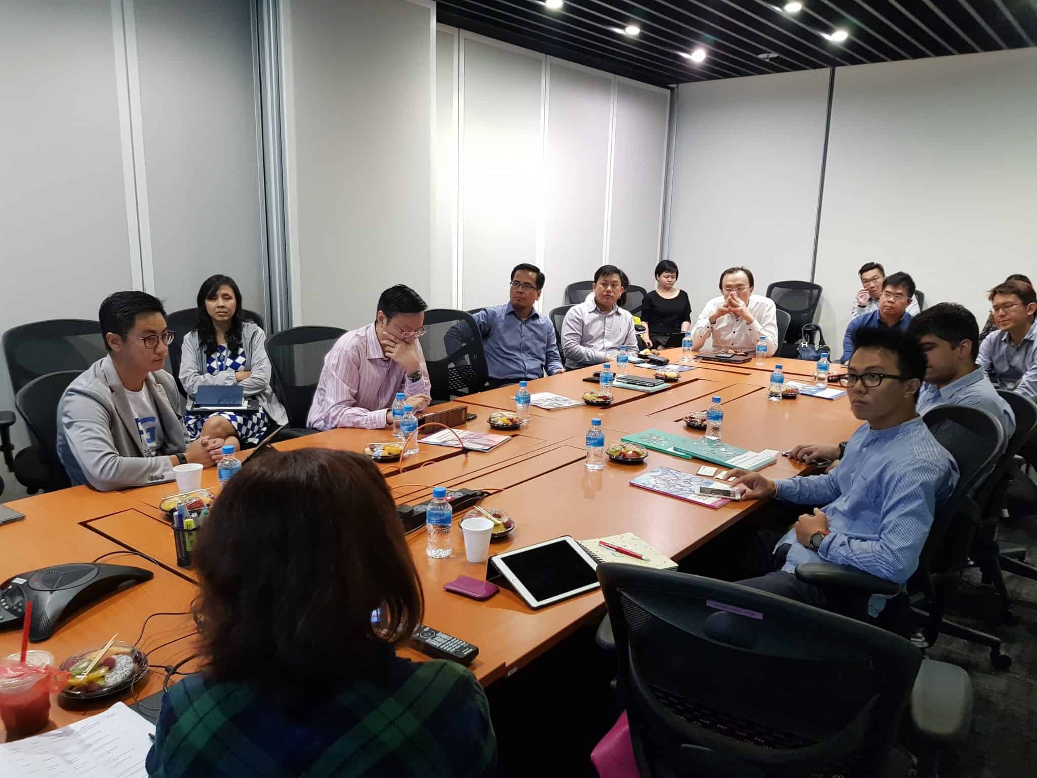Focus Group in session between SSG Employer Engagement Office and Singapore HR Techs